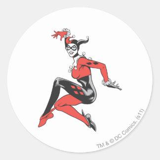 Harley Quinn 1 Pegatinas Redondas