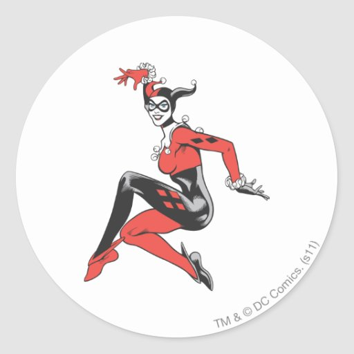 Harley Quinn 1 Stickers