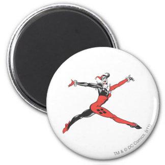 Harley Quinn 3 Imán Redondo 5 Cm