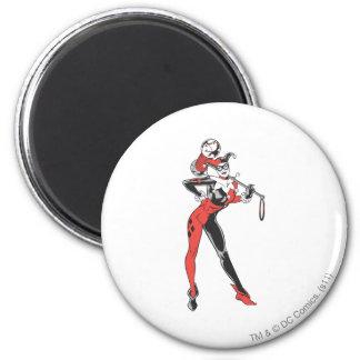 Harley Quinn 4 Imán Redondo 5 Cm