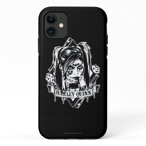 Harley Quinn Badge iPhone 11 Case