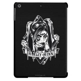 Harley Quinn Badge iPad Air Covers