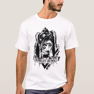 Harley Quinn Badge T-Shirt