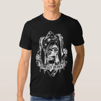 Harley Quinn Badge T Shirts
