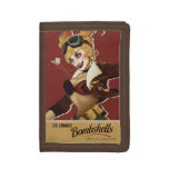 Harley Quinn Bombshell Tri-fold Wallets