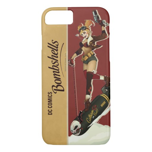 Harley Quinn Bombshells Pinup iPhone 8/7 Case