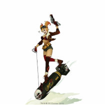 Harley Quinn Bombshells Pinup Cutout