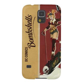 Harley Quinn Bombshells Pinup Galaxy S5 Case