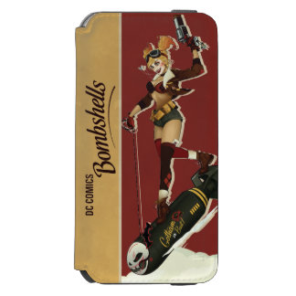Harley Quinn Bombshells Pinup iPhone 6/6s Wallet Case