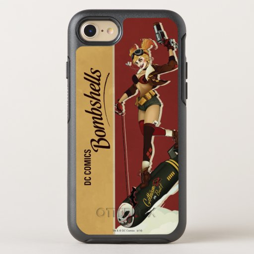 Harley Quinn Bombshells Pinup OtterBox Symmetry iPhone 8/7 Case