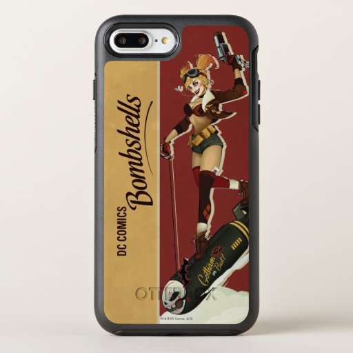 Harley Quinn Bombshells Pinup OtterBox Symmetry iPhone 8 Plus/7 Plus Case