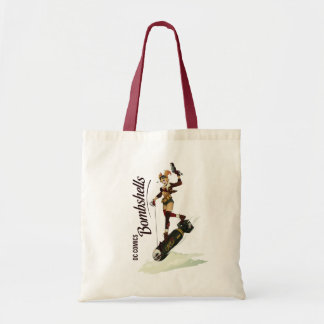 Harley Quinn Bombshells Pinup Tote Bag