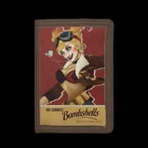 Harley Quinn Bombshells Pinup Tri-fold Wallets