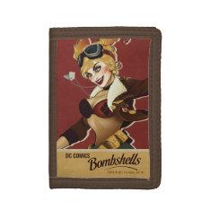 Harley Quinn Bombshells Pinup Tri-fold Wallets at Zazzle