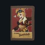 """Harley Quinn Bombshells Pinup Trifold Wallet<br><div class=""""desc"""">DC Comics Bombshells</div>"""