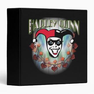 "Harley Quinn - cara y logotipo Carpeta 1 1/2"""