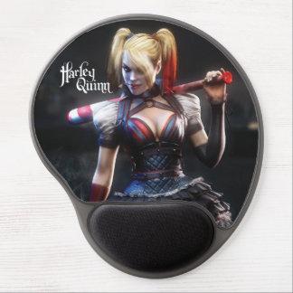 Harley Quinn con el palo Alfombrillas De Raton Con Gel