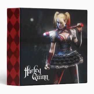 """Harley Quinn con el palo Carpeta 1 1/2"""""""