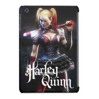 Harley Quinn con el palo Funda De iPad Mini
