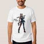 Harley Quinn con el palo Remera
