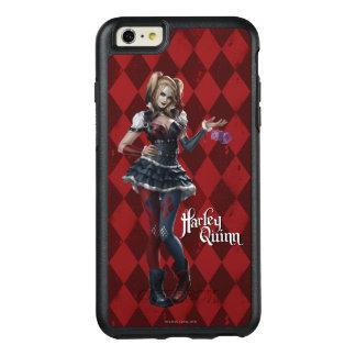 Harley Quinn con los dados borrosos 2 Funda Otterbox Para iPhone 6/6s Plus
