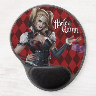 Harley Quinn con los dados borrosos Alfombrillas Con Gel