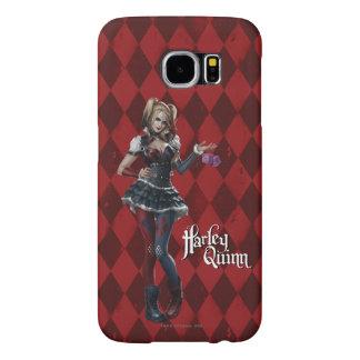 Harley Quinn con los dados borrosos Funda Samsung Galaxy S6