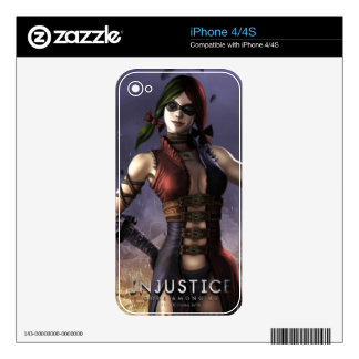 Harley Quinn Decal For The iPhone 4