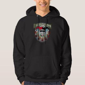 Harley Quinn - Face and Logo Hoody