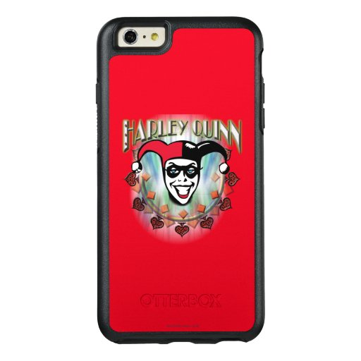 Harley Quinn - Face and Logo OtterBox iPhone 6/6s Plus Case