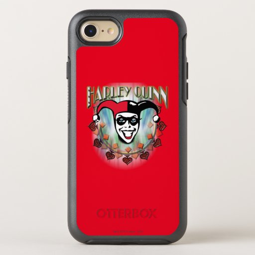 Harley Quinn - Face and Logo OtterBox Symmetry iPhone 8/7 Case