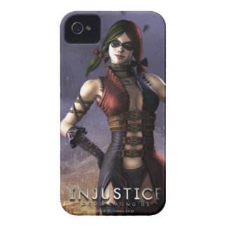 Harley Quinn iPhone 4 Case-Mate Protectores