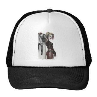 Harley Quinn Illustration Trucker Hat