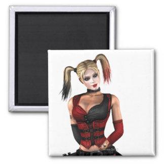 Harley Quinn Imán Cuadrado