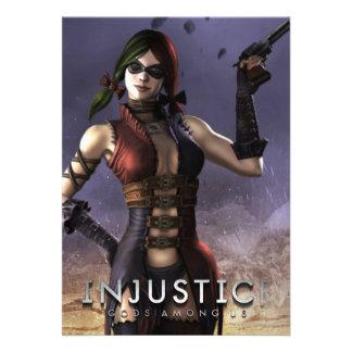 Harley Quinn Invites