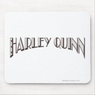 Harley Quinn - Logo Mouse Pad