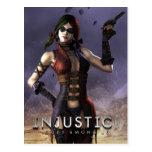 Harley Quinn Postcard