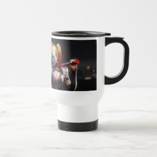 Harley Quinn With Bat 15 Oz Stainless Steel Travel Mug