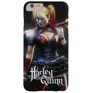 Harley Quinn With Bat Barely There iPhone 6 Plus Case
