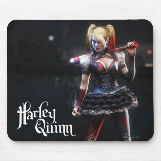Harley Quinn With Bat Mouse Pad