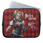 Harley Quinn With Fuzzy Dice Computer Sleeve