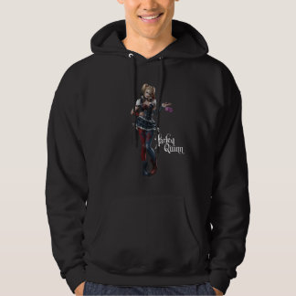 Harley Quinn With Fuzzy Dice Hoodie