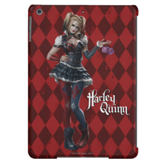 Harley Quinn With Fuzzy Dice iPad Air Cover