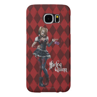 Harley Quinn With Fuzzy Dice Samsung Galaxy S6 Case
