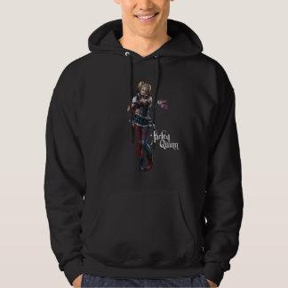 Harley Quinn With Fuzzy Dice Sweatshirt