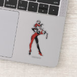 Harley Quinn With Mallet Sticker