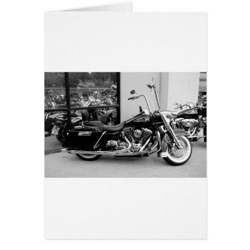 Harley Reflections Greeting Card