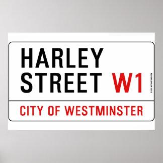 Harley Street Posters