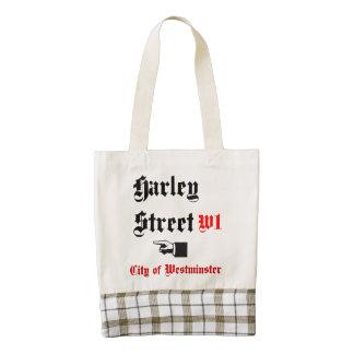 Harley Street Sign Zazzle HEART Tote Bag