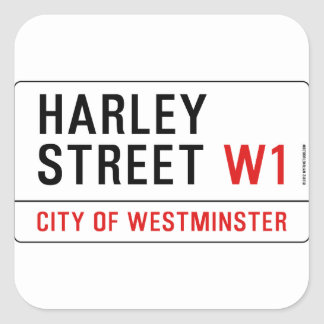 Harley Street Stickers